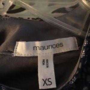 Maurices Dresses - Maurice's Navy Metallic Dress